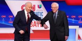 Biden en Sanders in 'coronadebat' veel meer president dan Trump