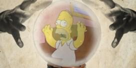 Nee, de Simpsons zijn niet paranormaal begaafd
