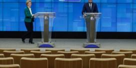 EU doet buitengrenzen Schengen op slot