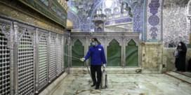 Iran liet pelgrims bidden en virussen verspreiden