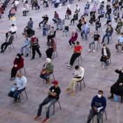 Wachten op de test vooraleer je naar huis mag