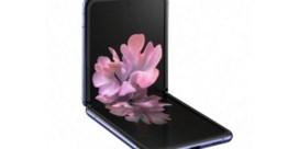 Opvouwbare smartphone valt in de plooi