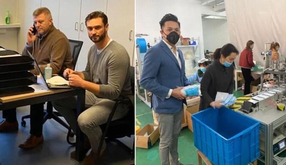 Hoe drie kennissen en hoofdaandeelhouder van Zulte Waregem ons land 20 miljoen mondmaskers bezorgen