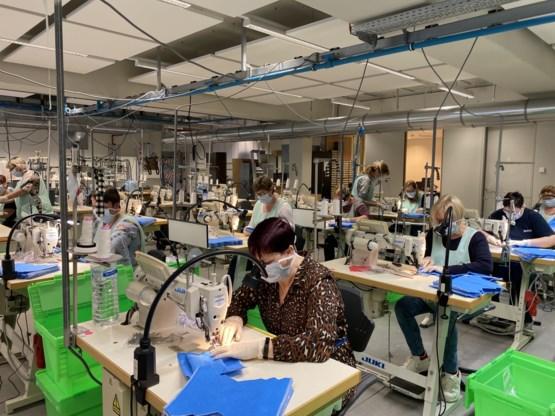 Belgische lingeriefabrikant Van de Velde maakt mondmaskers