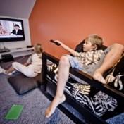 Niet verwonderlijk: we kijken massaal televisie