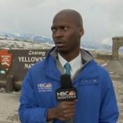 Reporter zet het op een lopen: 'Er kwam een kudde bizons op mij af'