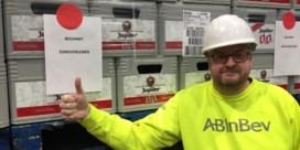 AB InBev schenkt handgel en alcoholvrij bier aan ziekenhuizen en woonzorgcentra