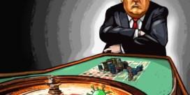 Donald Trump gokt met mensenlevens