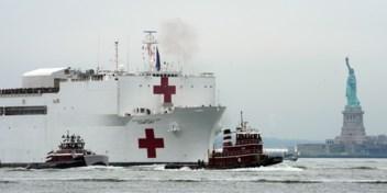 Gigantisch hospitaalschip na 9/11 opnieuw in New York: 'Bubbel rond schip maken'