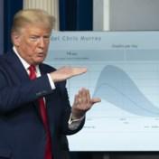 Trump waarschuwt voor 'zeer pijnlijke twee weken', experts voorspellen 240.000 doden