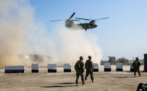 Trump waarschuwt Iran voor aanval op Amerikanen in Irak