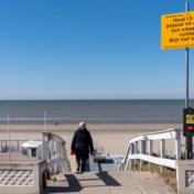 Toeristen niet welkom aan de kust