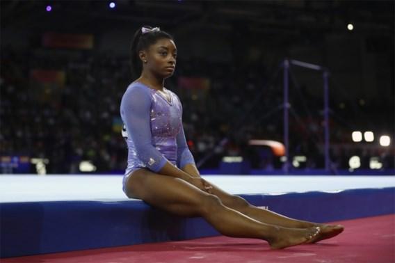 """Simone Biles: """"Heb geweend toen de Olympische Spelen uitgesteld werden"""""""