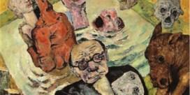 'Zelfportret met doodshoofd' (1938)