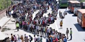 Chaos in India na doldrieste lockdown