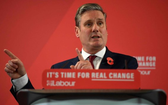 Keir Starmer wordt nieuwe leider van Britse Labourpartij