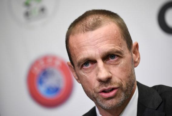 UEFA-voorzitter Aleksander Ceferin wil dat elk land kampioen aanduidt indien dit seizoen niet meer gespeeld kan worden