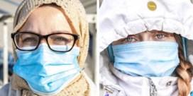 Mondmaskers filteren adem van zieke patiënten