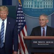Gepikeerde Trump laat Fauci niet antwoorden op vraag over medicijn