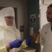 Dokter toont hoe cardiologie omgebouwd werd tot covid-afdeling