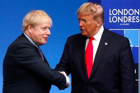Trump biedt artsen van Boris Johnson hulp aan