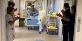 Applaus voor de eerste patiënten die intensieve zorg mogen verlaten in Hasselt