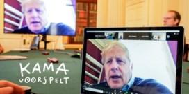 Kama steekt Boris Johnson een hart onder de riem