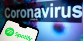 Spotify ziet gebruik afnemen tijdens coronacrisis