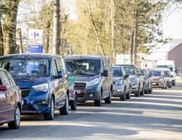 Politie stelt al grote drukte vast aan recyclageparken Hasselt en Zonhoven