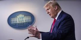 Trump kritisch voor WHO: 'Ze hebben het verknald'