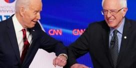 Sanders gooit handdoek in de ring, Biden neemt het op tegen Trump