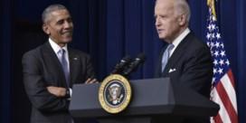 Obama schaart zich achter Biden: 'Alle kwaliteiten die we nu nodig hebben'