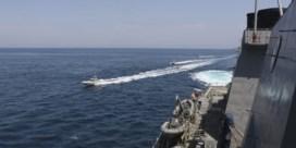 Iran 'intimideert' Amerikaanse marine in Perzische Golf