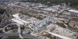 Heropbouw snelwegbrug in Genua bereikt belangrijke mijlpaal