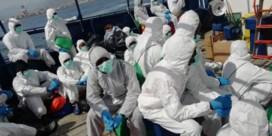 Migranten die gered werden op zee, zitten in isolatie op Italiaanse veerboot