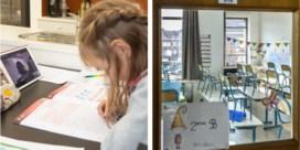 Franstalige leerlingen herhalen, Vlaamse blazen Smartschool op
