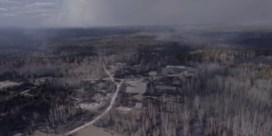 Dronebeelden tonen verwoeste regio in Tsjernobyl