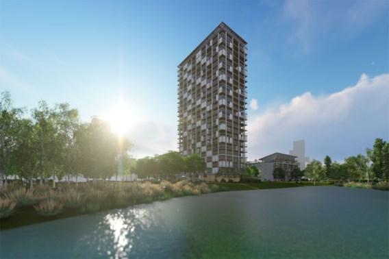 Shigeru Ban bouwt houten woontoren in Antwerpen
