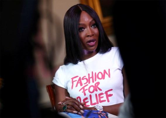 Naomi Campbell in quarantaine verveld tot talkshowhost