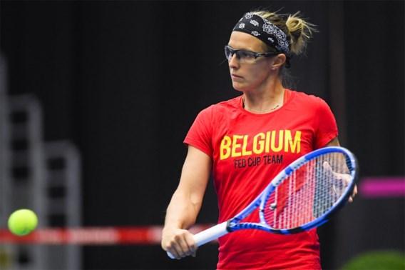 Tennisster Kirsten Flipkens hekelt optreden van politie na boete: 'Als een crimineel met sirenes aan de kant gezet'