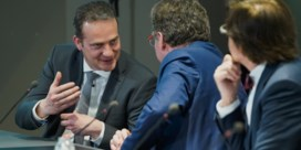 Drie helderste minuten van persconferentie waren voor Duitstalig België
