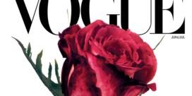 Vogue vervangt model door rode roos van Irving Penn