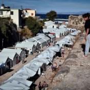Ravage na brand en onlusten in Grieks vluchtelingenkamp