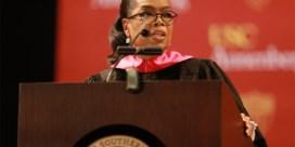 Laatstejaars? Oprah Winfrey zal dit jaar uw diploma uitreiken