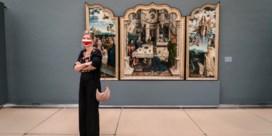 Eenrichtingsverkeer en mondmaskers in Musea voor Schone Kunsten