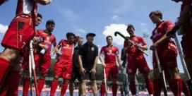 Red Lions gaan maandag weer trainen, achter gesloten deuren