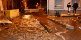 Mechelsesteenweg loopt onder water door breuk waterleiding
