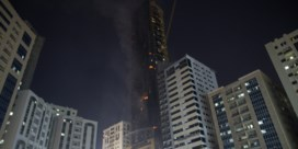Drones helpen wolkenkrabber in Verenigde Arabische Emiraten te blussen