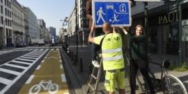 Vanaf maandag is Brusselse vijfhoek officieel één groot woonerf