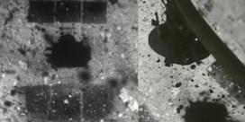 Nieuwe beelden tonen hoe satelliet van asteroïde afstoot